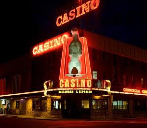 Interactive map of casinos within Alaska