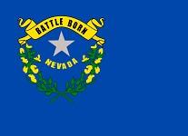 Online-Casinos Nevada State Flag